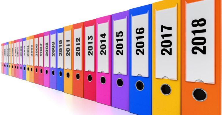 帳簿の保存期限